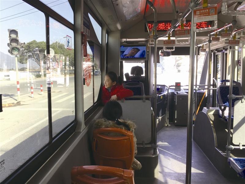 温州快速公交BRT2号线试运营