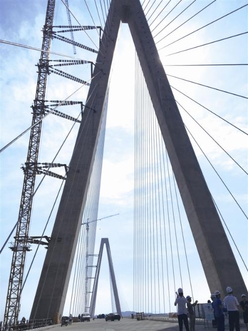 乐清湾大桥力争2018年春节前贯通
