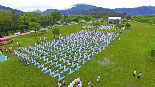 2018温州国际太极瑜伽盛会上演