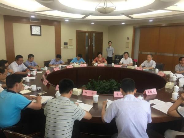 7月12日,杭州电子科技大学来温对接产学研合作