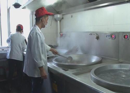 """苍南泰顺积极建设""""阳光厨房"""" 就餐场所实时播放监控视频"""