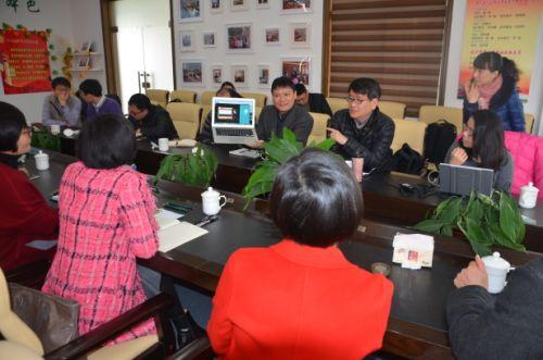 台湾资策会副所长林立杰一行访问温州二中