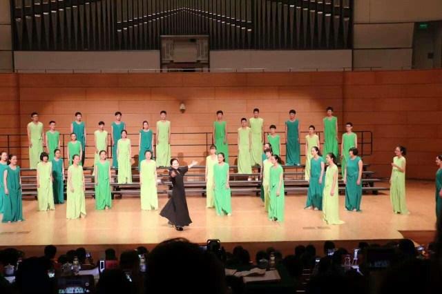 温州二高天籁音阁合唱团获全国中小学艺术展演第二名