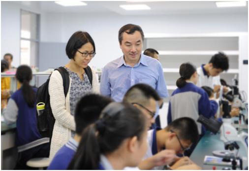 教育部教育信息化工作检查组到温二十二中检查指导工作