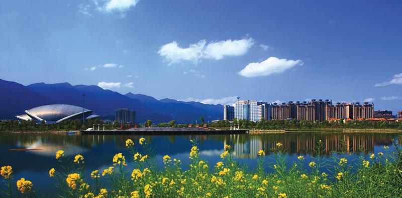 臨海靈湖景區獲2017中國人居環境獎