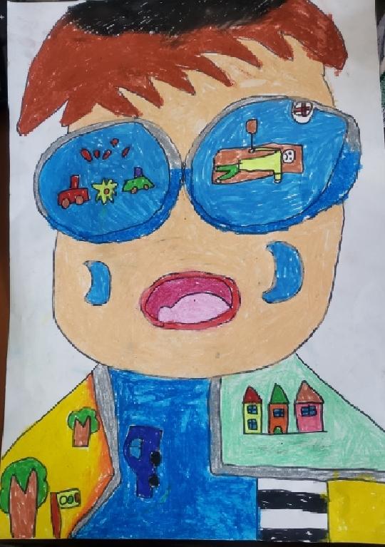双溪幼儿园亲子绘画作品